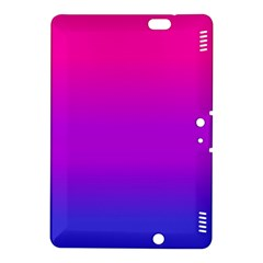 Pink Purple Blue Kindle Fire Hdx 8 9  Hardshell Case by AnjaniArt