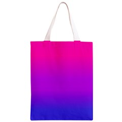Pink Purple Blue Classic Light Tote Bag by AnjaniArt