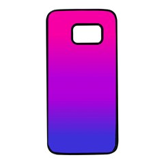 Pink Purple Blue Samsung Galaxy S7 Black Seamless Case