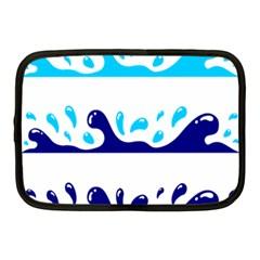 Water Netbook Case (medium)  by AnjaniArt