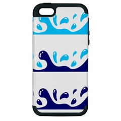 Water Apple Iphone 5 Hardshell Case (pc+silicone) by AnjaniArt