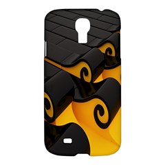 Tsunami Roll Sea Wave Samsung Galaxy S4 I9500/i9505 Hardshell Case by AnjaniArt