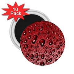 Red Water 2 25  Magnets (10 Pack)  by AnjaniArt