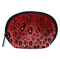 Red Water Accessory Pouches (medium)  by AnjaniArt