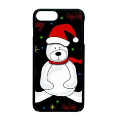 Polar bear - Xmas design Apple iPhone 7 Plus Seamless Case (Black)