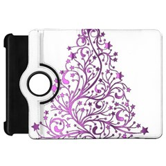 Elegant Starry Christmas Pink Metallic Look Kindle Fire Hd 7  by yoursparklingshop