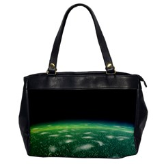 Alien Orbit Office Handbags by Onesevenart