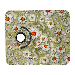 Beautiful White Flower Pattern Galaxy S3 (flip/folio) by Onesevenart