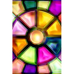 Glass Colorful Stained Glass 5 5  X 8 5  Notebooks by Onesevenart