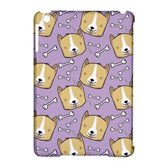 Corgi Pattern Apple iPad Mini Hardshell Case (Compatible with Smart Cover) by Onesevenart