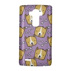 Corgi Pattern LG G4 Hardshell Case by Onesevenart