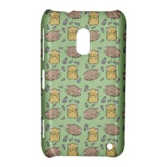 Hamster Pattern Nokia Lumia 620 by Onesevenart