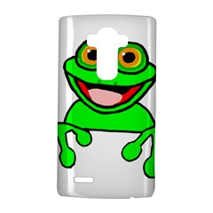 New Green Peeping Frog11 LG G4 Hardshell Case by TailWags