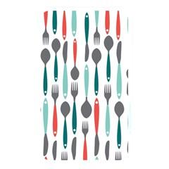Spoon Fork Knife Pattern Memory Card Reader by Onesevenart