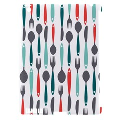 Spoon Fork Knife Pattern Apple Ipad 3/4 Hardshell Case (compatible With Smart Cover) by Onesevenart