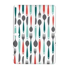 Spoon Fork Knife Pattern Galaxy Note 1 by Onesevenart