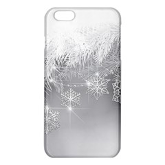 New Year Holiday Snowflakes Tree Branches Iphone 6 Plus/6s Plus Tpu Case by Onesevenart