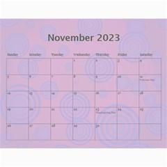 Colorful Calendar 2017 By Galya   Wall Calendar 11  X 8 5  (12 Months)   Es37z8kazhm6   Www Artscow Com Nov 2017