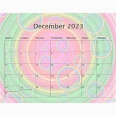 Colorful Calendar 2017 By Galya   Wall Calendar 11  X 8 5  (12 Months)   Es37z8kazhm6   Www Artscow Com Dec 2017