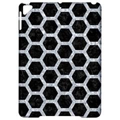 Hexagon2 Black Marble & Gray Marble Apple Ipad Pro 9 7   Hardshell Case by trendistuff