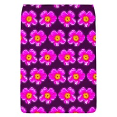 Pink Flower Pattern On Wine Red Flap Covers (s)  by Costasonlineshop
