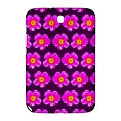 Pink Flower Pattern On Wine Red Samsung Galaxy Note 8 0 N5100 Hardshell Case  by Costasonlineshop