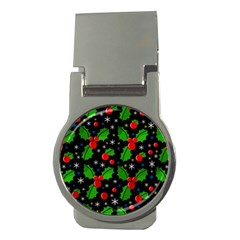 Xmas Magical Pattern Money Clips (round)