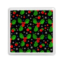 Xmas Magical Pattern Memory Card Reader (square)  by Valentinaart