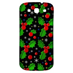 Xmas Magical Pattern Samsung Galaxy S3 S Iii Classic Hardshell Back Case by Valentinaart