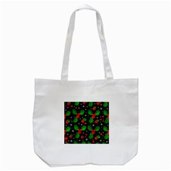 Xmas Magical Pattern Tote Bag (white) by Valentinaart
