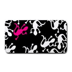 Magenta Lizard Medium Bar Mats by Valentinaart