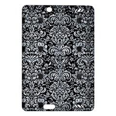 Damask2 Black Marble & Gray Marble Amazon Kindle Fire Hd (2013) Hardshell Case by trendistuff