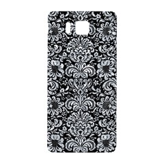 Damask2 Black Marble & Gray Marble Samsung Galaxy Alpha Hardshell Back Case by trendistuff