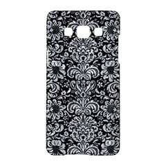 Damask2 Black Marble & Gray Marble Samsung Galaxy A5 Hardshell Case
