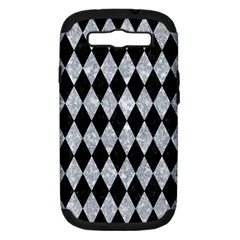 Diamond1 Black Marble & Gray Marble Samsung Galaxy S Iii Hardshell Case (pc+silicone) by trendistuff