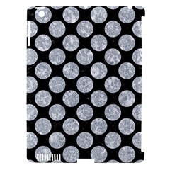 Circles2 Black Marble & Gray Marble Apple Ipad 3/4 Hardshell Case (compatible With Smart Cover) by trendistuff