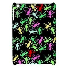 Playful Lizards Pattern Apple Ipad Mini Hardshell Case by Valentinaart
