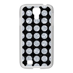 Circles1 Black Marble & Gray Marble Samsung Galaxy S4 I9500/ I9505 Case (white) by trendistuff