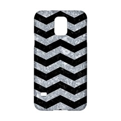 Chevron3 Black Marble & Gray Marble Samsung Galaxy S5 Hardshell Case  by trendistuff