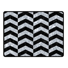 CHV2 BK-GY MARBLE Double Sided Fleece Blanket (Small)  by trendistuff
