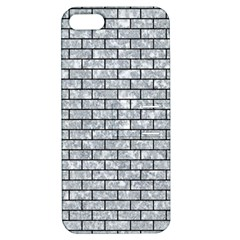 Brick1 Black Marble & Gray Marble (r) Apple Iphone 5 Hardshell Case With Stand by trendistuff