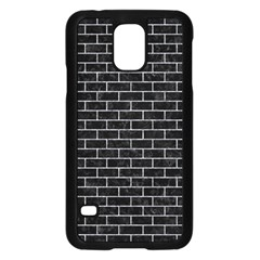 Brick1 Black Marble & Gray Marble Samsung Galaxy S5 Case (black) by trendistuff
