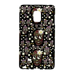 Floral Skulls With Sugar On Galaxy Note Edge by pepitasart
