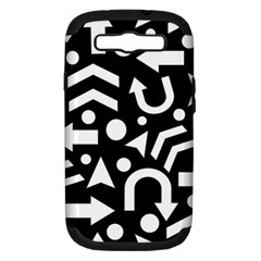 Right direction Samsung Galaxy S III Hardshell Case (PC+Silicone) by Valentinaart