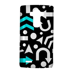 Right Direction   Cyan Lg G4 Hardshell Case by Valentinaart
