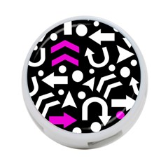 Right Direction   Magenta 4 Port Usb Hub (two Sides)  by Valentinaart
