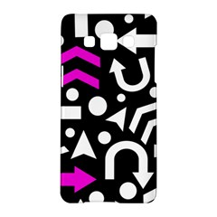 Right Direction   Magenta Samsung Galaxy A5 Hardshell Case