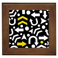 Right Direction   Yellow Framed Tiles