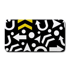 Right Direction   Yellow Medium Bar Mats by Valentinaart