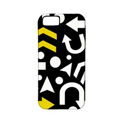 Right Direction   Yellow Apple Iphone 5 Classic Hardshell Case (pc+silicone) by Valentinaart